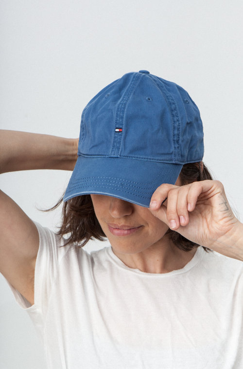 Tommy blue casquette