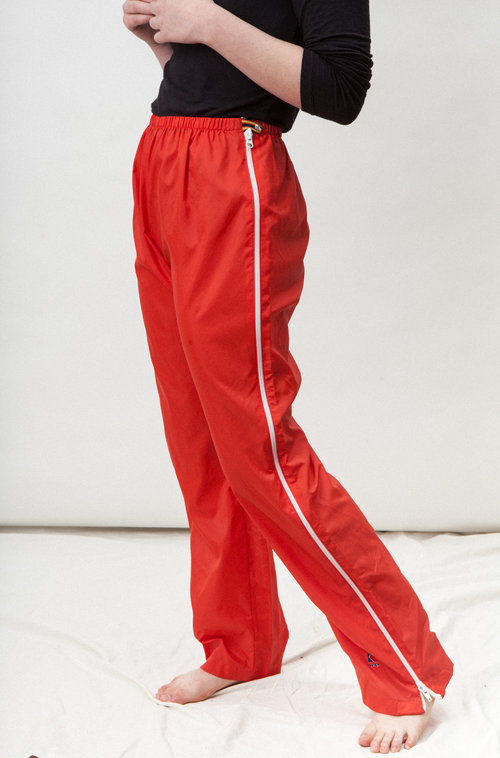 K-WAY vintage zipped pants