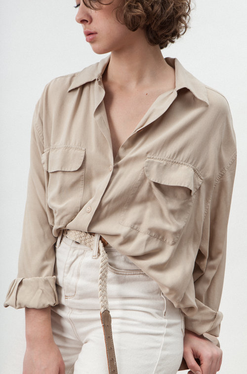 Rebelle vintage silk shirt