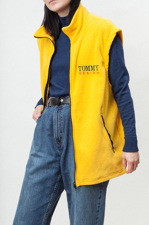 Tommy vintage sleeveless vest