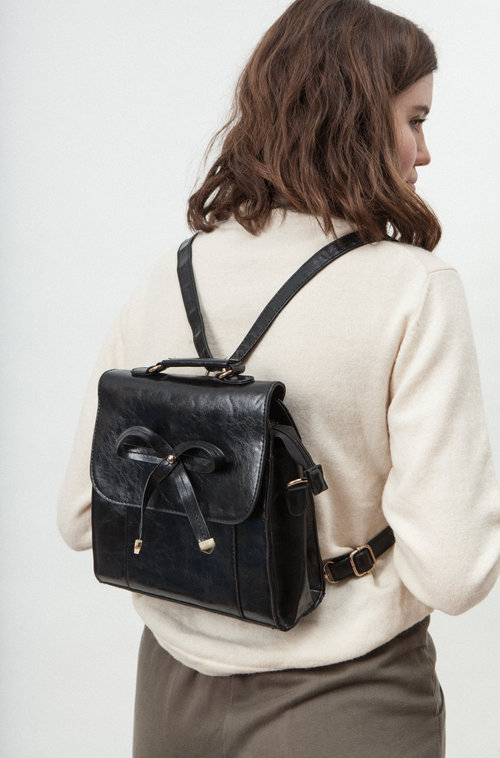Monica vintage leather bag