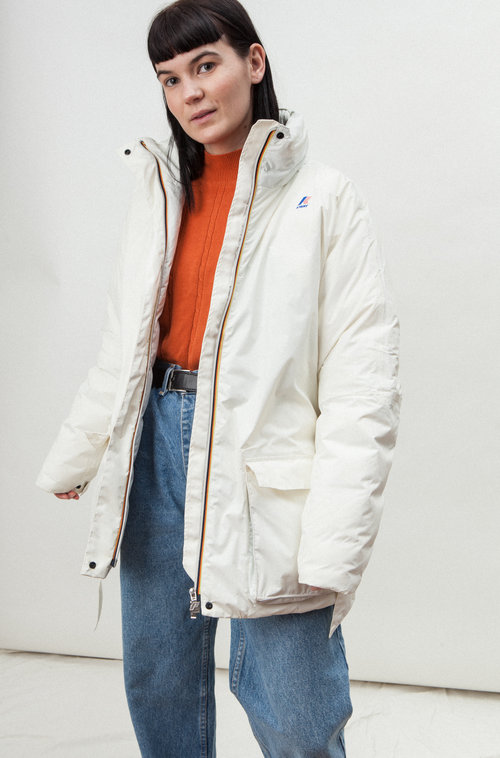 K-WAY modern down coat
