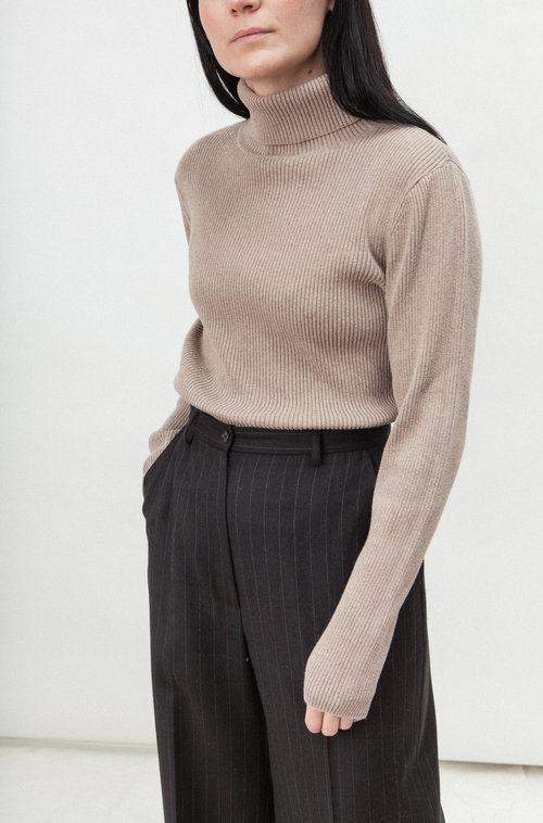 Denver vintage rib turtleneck