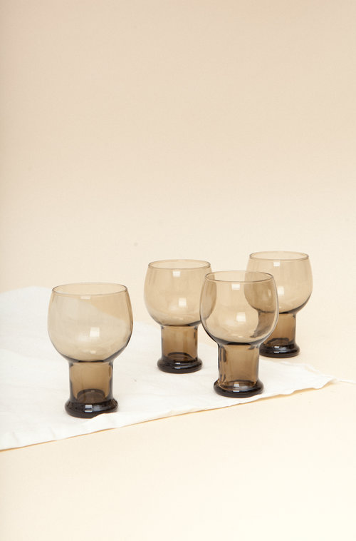 Westeros vintage glass set (4)