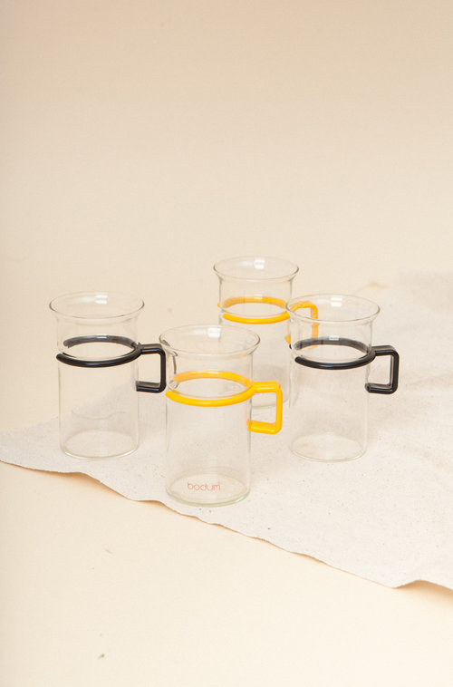 Bodum vintage glasse set (4)