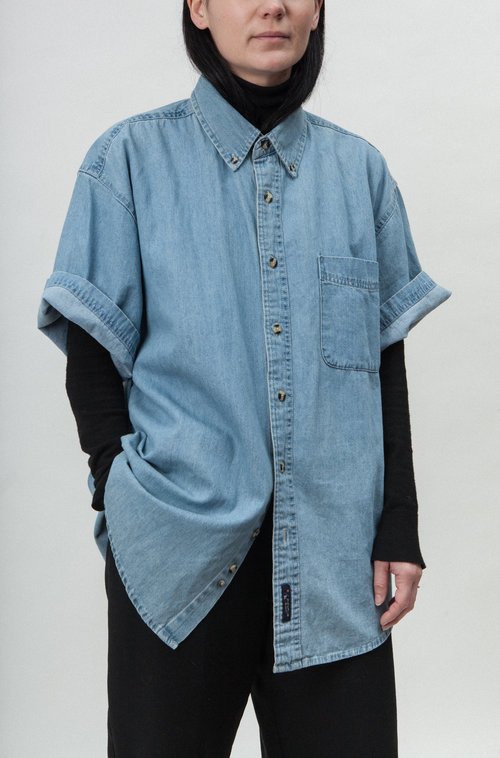 Camisette vintage denim shirt