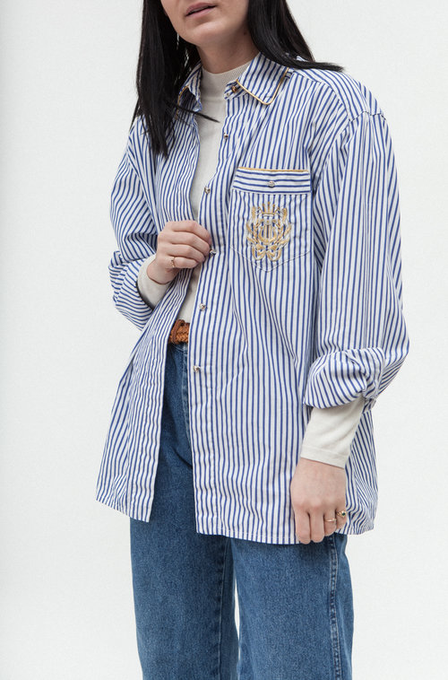 Lurex vintage shirt