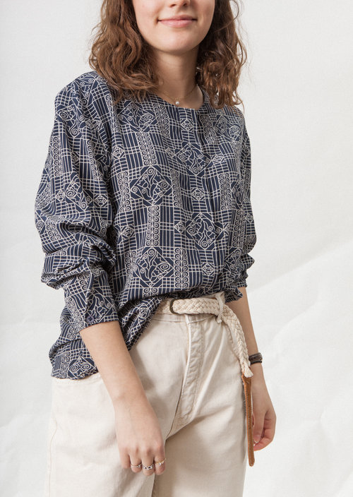 Central Gallery vintage silk shirt