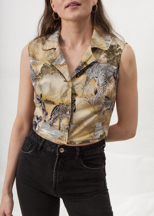 Cobra vintage jungle shirt