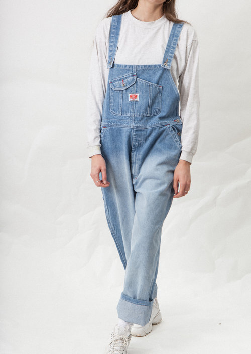 Keystone vintage denim salopette