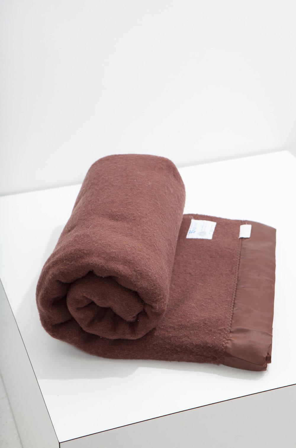 blanket vintage wool