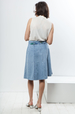Pauline vintage denim skirt