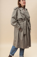 Club nuage vintage trench coat
